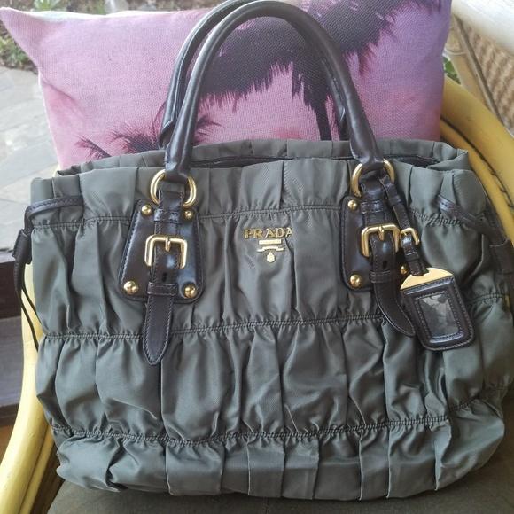 89631302bc7d Authentic Prada gaufre bag. M_5a67b3782ae12f91a4fc0fe2